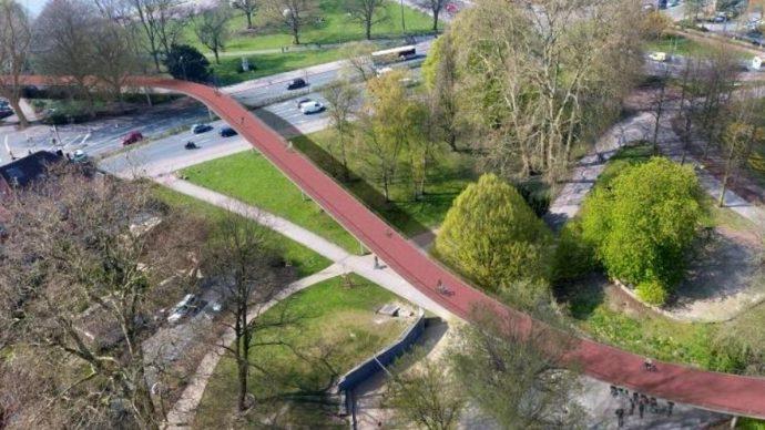 Simulation des Flyovers Aegidiitor (Grafik: Stadt Münster)