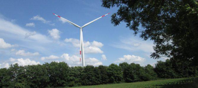Die weithin sichtbaren Bürger-Windräder in Roxel drehen sich wieder