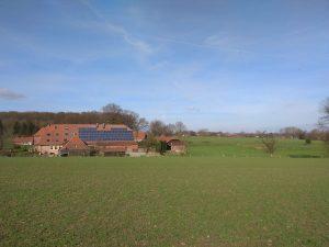 Bauernhof am Fuße der Baumberge