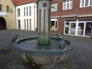 Brunnen in der Havixbecker Innenstadt