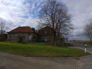 Wanderung Billerbeck - Baumberge, Roxel. 2. März 2020: Alte Landschule Baumberge