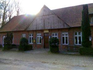 Wanderung Billerbeck - Baumberge, Roxel. 2. März 2020: Ehemaliges Gasthaus Leopoldshöhe