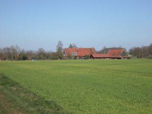Bauernhof im Schonebeck bei Burg Hülshoff