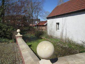 Gräfte neben dem Alten Feuerwehrhaus von Hohenholte