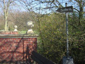 Aabrücke und Kreisgrenze in Hohenholte