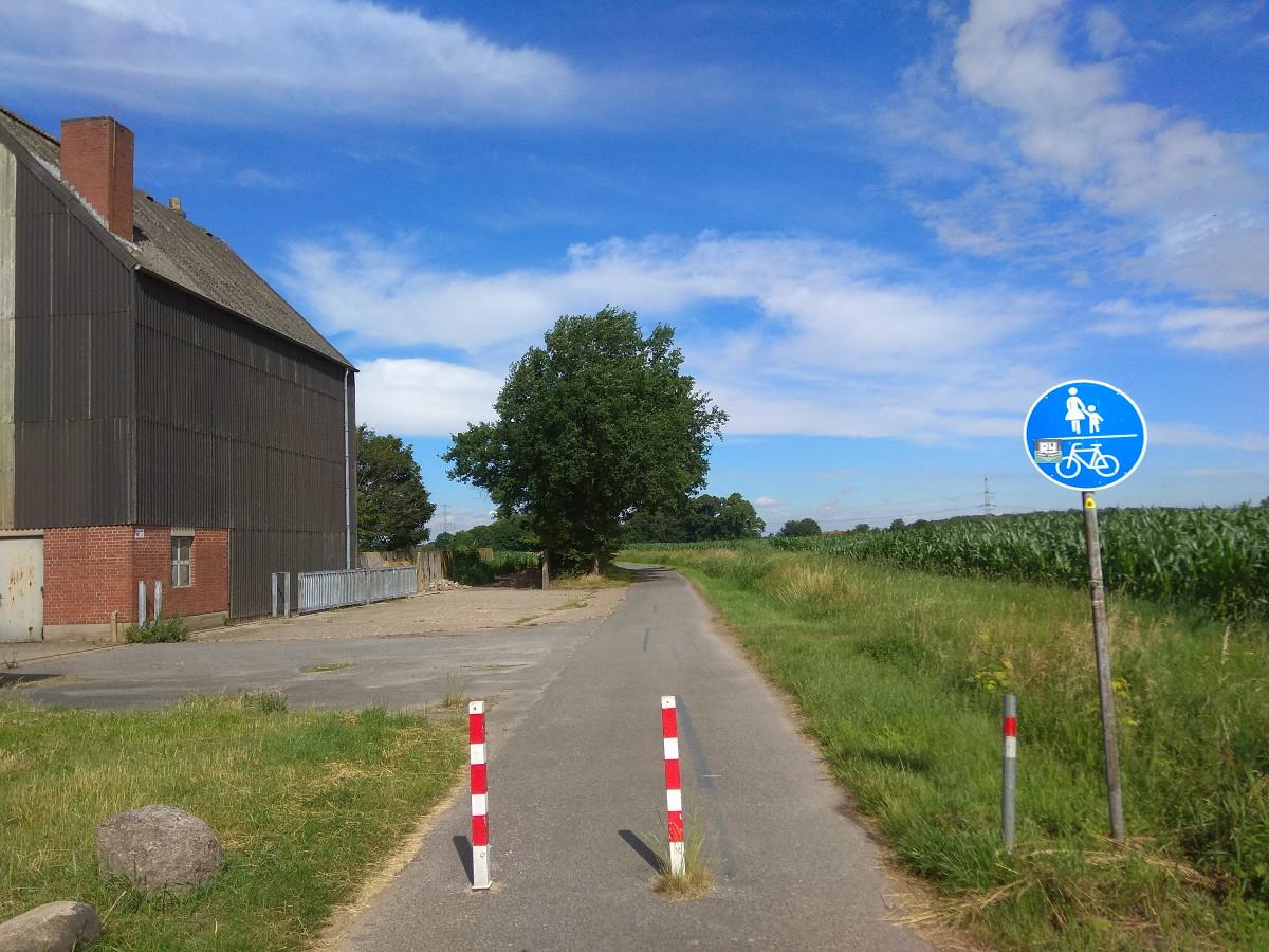 Radweg Bredeheide - Stodtbrockweg, Roxel