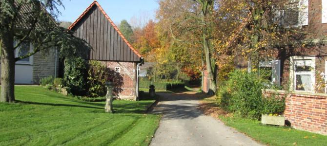 Goldene Herbst-Wanderung auf dem Baumberger Ludgerusweg