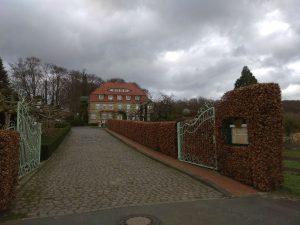 Wanderung Billerbeck - Baumberge, Roxel. 2. März 2020: Steverburg