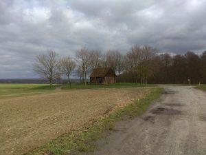 Wanderung Billerbeck - Baumberge, Roxel. 2. März 2020: Bruder-Klaus-Kapelle