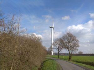 Windrad am Stodtbrockweg in Roxel