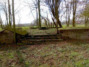 Ruine am Horstmarer Landweg, Ecke Haus Spital in Gievenbeck